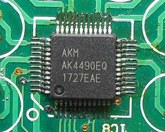 PiDAC4490-1 1をAK4493用に改造する